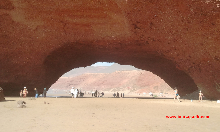 legzira beach from Agadir