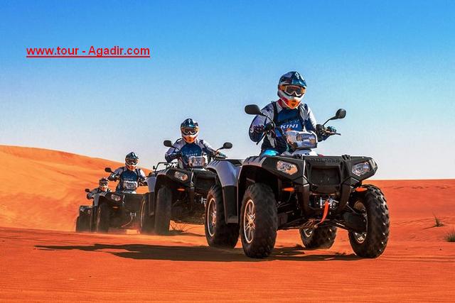 quad bike in agadir