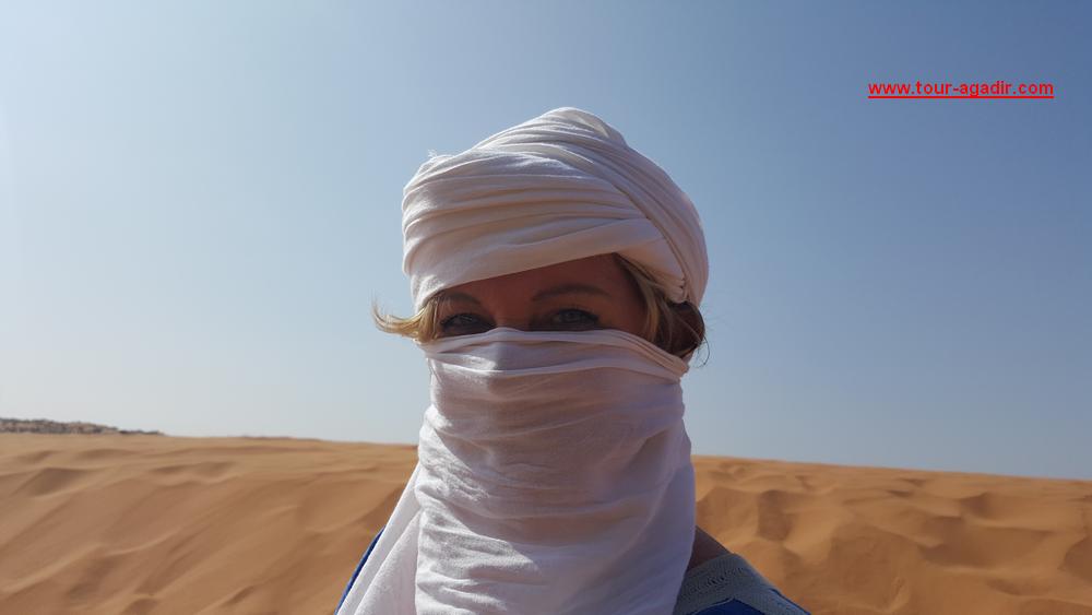 dune du sable à Agadir